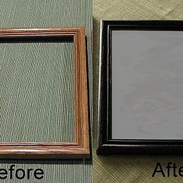 Repaint a Picture Frame