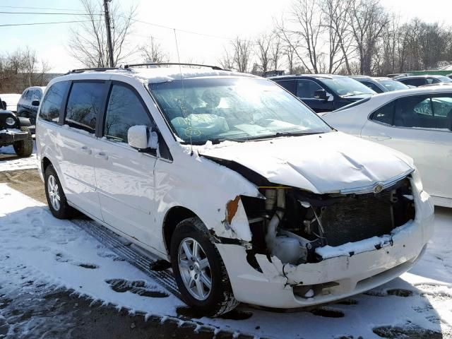 Salvage 2008 Chrysler Town Country Touring Van For Sale Salvage