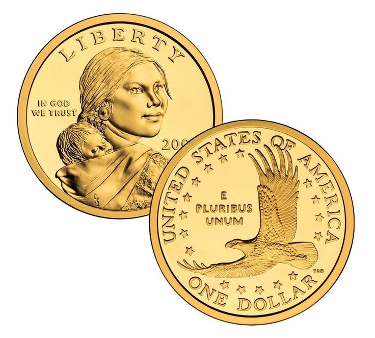 2000 P, D Native American (Sacagawea/Golden) Dollar 2 Coin Set Uncirculated at Amazon's Collectible Coins Store
