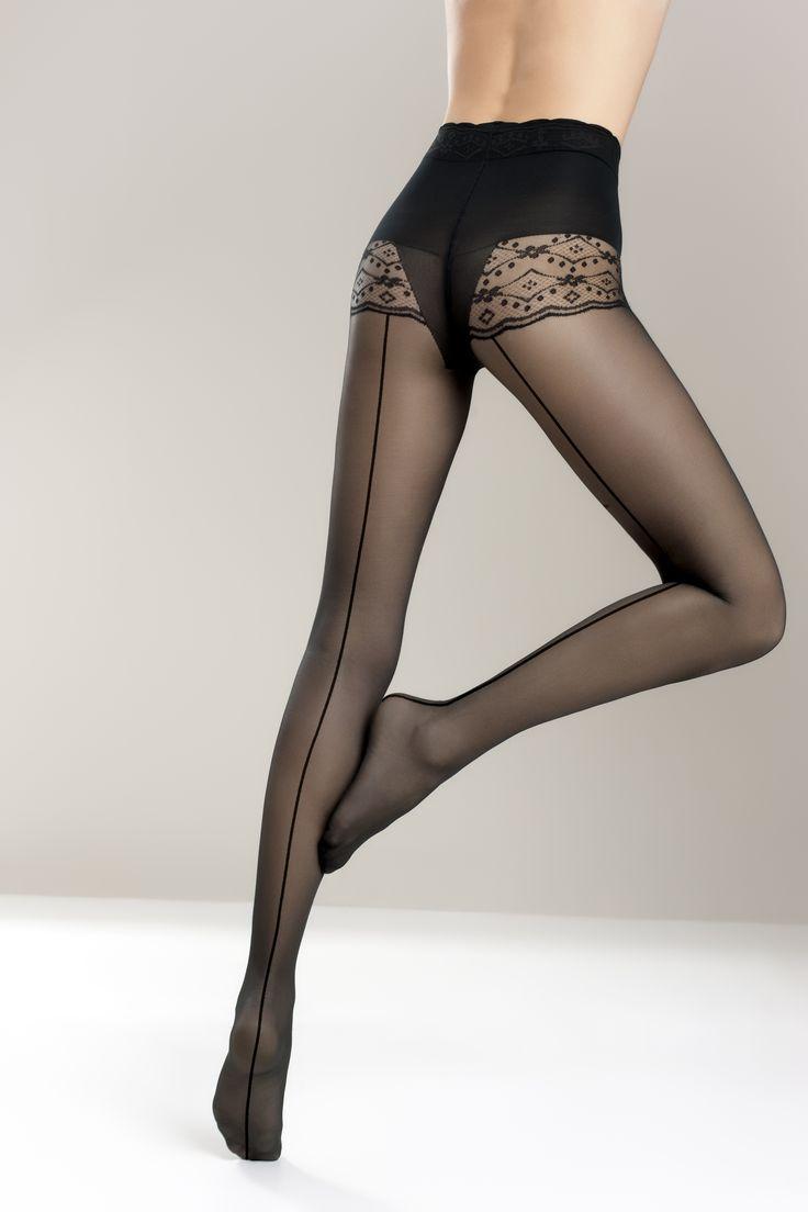 VALENTINE 03 RIGA #tights #decorative #bikini #briefs #fashion #moda #woman #rajstopy #kobieta