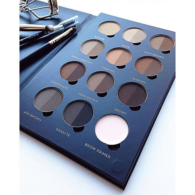 Brow Pro Palette @kris_makeupartist #AnastasiaBrows