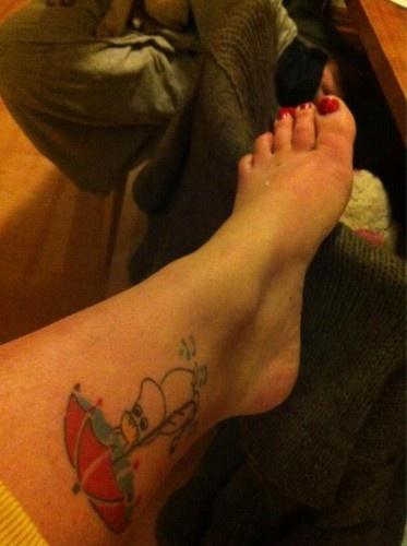 Snork Maiden tattoo