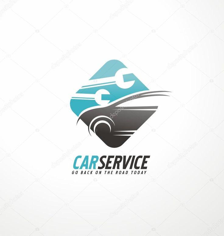 Descargar - Concepto de coche vector Abstracto logotipo diseño — Ilustración de stock #78509358