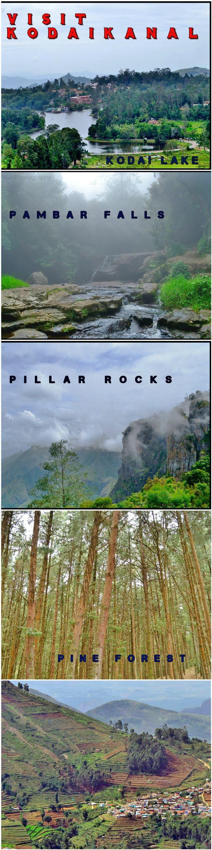 One of the Best Place to Visit in India -  Kodaikanal , Tamil Nadu