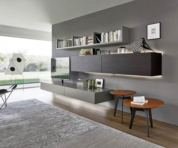 14 besten Wohnzimmer Bilder auf Pinterest Wohnbereich, Tv - wohnzimmer farblich gestalten