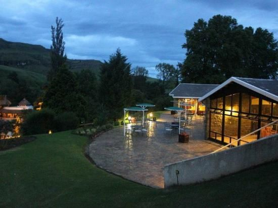Sani Pass Hotel & Leisure Resort - will be here on New Year's Eve 2013 seeing in 2014 with beautiful mountain views