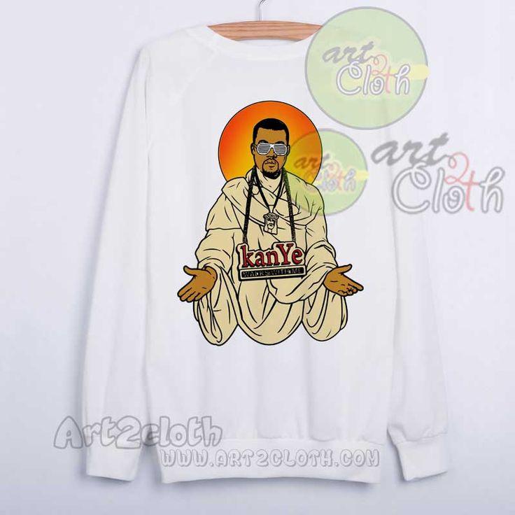 Keny West Yeezus Unisex Sweatshirts //Price: $28.75 //     #shopping