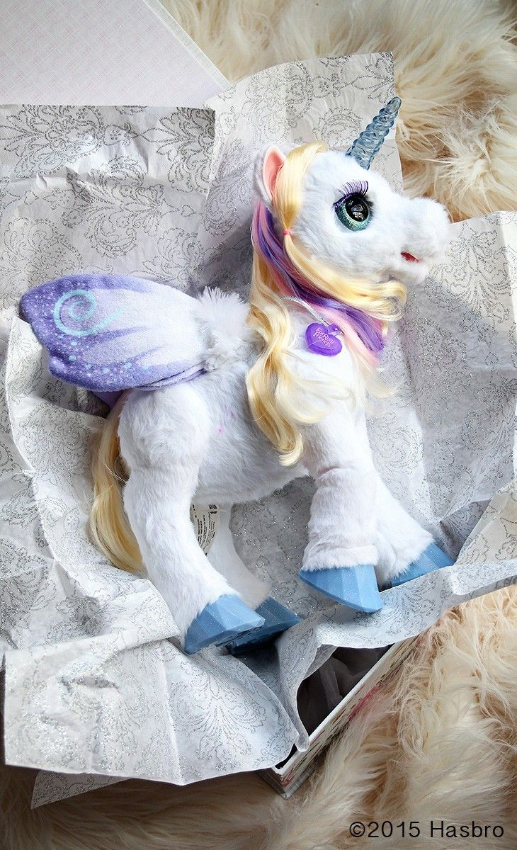 Make the holiday morning extra sparkly special with the perfect gift from FurReal Friends: StarLily My Magical Unicorn. Might just be your child's new best friend. Sponsored by FurReal Friends //