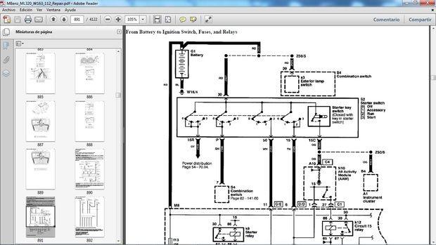 mercedes benz ml320 w163 manual de taller - workshop repair | mercedes  benz, mercedes, manuales de reparación  pinterest