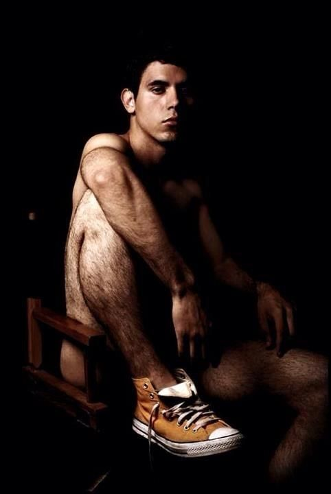 men with hairy legs nude