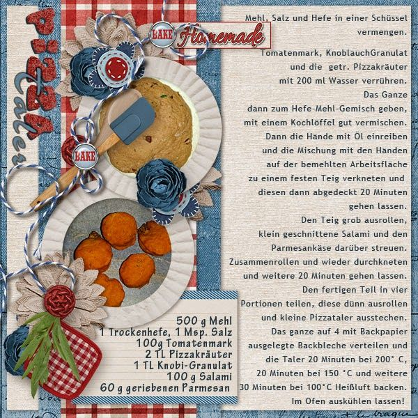 Template FlourPowerTemplates by #LuvEweDesign Papers All American Boy by #KathrynEstry Elements HomeMade Heartmade by #Aprilisa Designs Photos & Recipe by kpmelly
