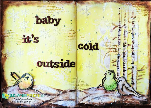 Scraps N Pieces - the Blog Art Journal by Vicky Varvadouka