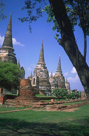 The Ruins at Ayuthaya, Thailand