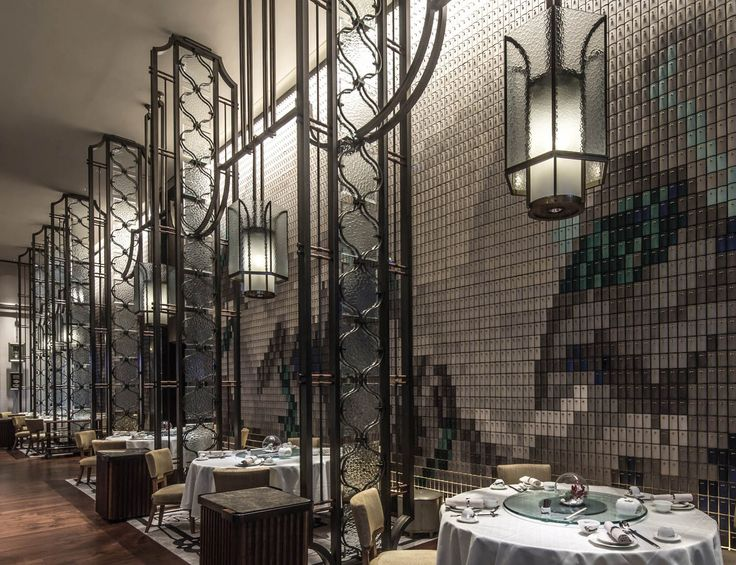 ab concept the dynasty restaurant amazing restaurant interior design you must see - Beaded Inset Restaurant Interior