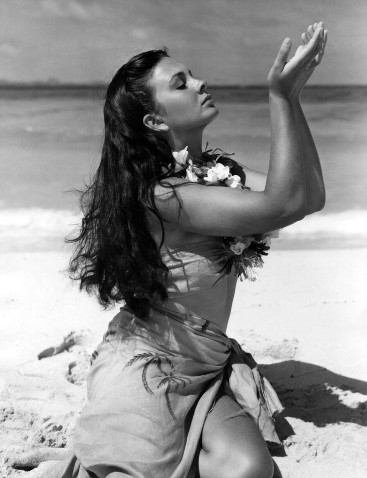 """Jean Simmons in """"The Blue Lagoon"""", 1949."""