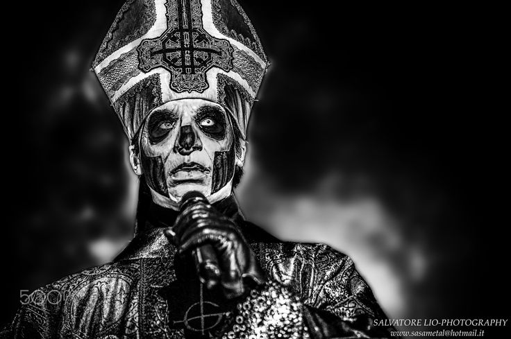 Papa Emeritus III - Ghost B.C Hellfest 2016  All Right Reserved © Salvatore Lio 2016  FB: https://www.facebook.com/Sasametal/