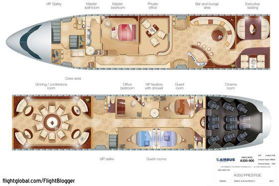 Private Jet Interior Floor Plan Pimp My Prestige Flightblogger Aviation News