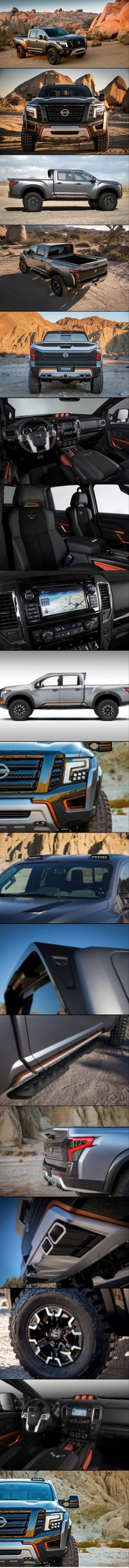 "ALL NEW "" 2017 Nissan Titan Warrior Concept "", 2017 Concept Car Photos and Images, 2017 Cars"