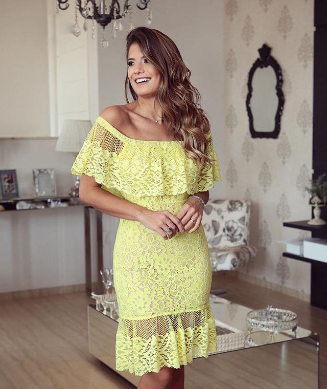 Bom dia meus amores! ☀️☀ {New Collection @sublinimodas Nas lojas a partir do dia 05/09/16} Vestido de renda deuso para alegar nosso sábado!