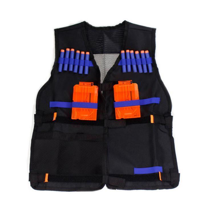Nerf Tactical Vest Jacket Toy Guns Clip Nerf Darts Kit nerf n-strike elite TACTICAL Vest KIT for N-Strike Elite Foam Bullets