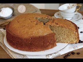 TORTA AL CAFFè ricetta velocissima senza burro senza fruste