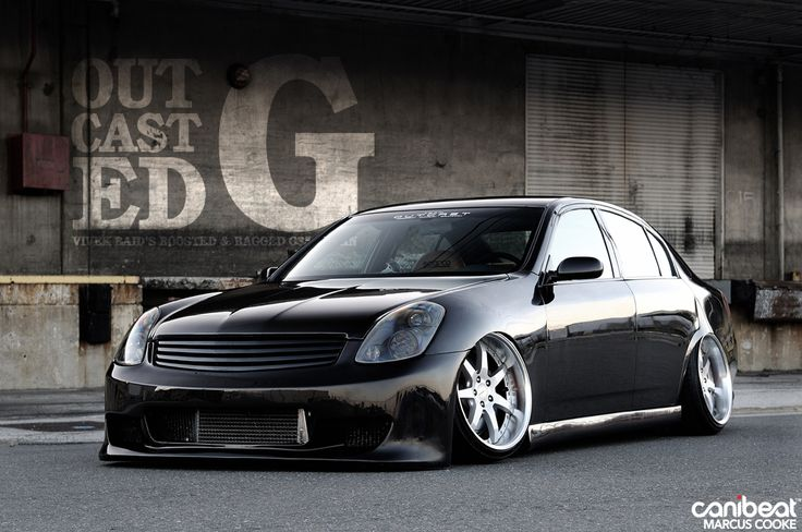 Bagged And Boosted G35 Whip Jdm 215 Nissan Infiniti