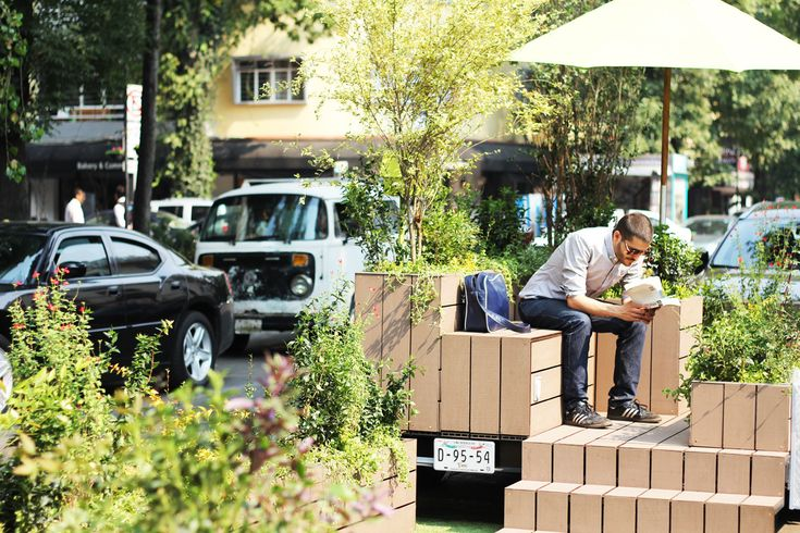 Galería de Parklets - Una nueva alternativa de espacio público en la ciudad / Fundacion Espacios + DAS Arquitectura - 5