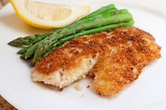 Weight Watchers Recipes | Parmesan Crusted Tilapia