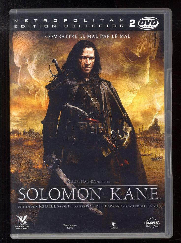 SOLOMON KANE   Michael J. BASSETT  d'après Robert E. HOWARD   DVD ZONE 2