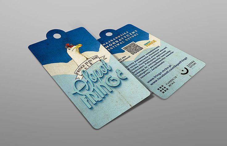 Fringe Sopot Festival Hang Tag Design