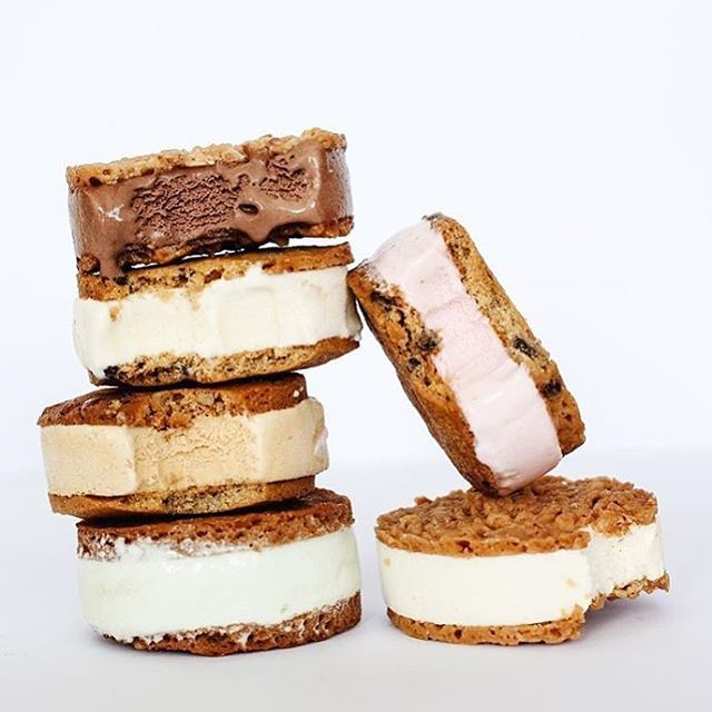 We are loving the Caramel Pecan and the Peanut Butter Pat and Stick Icecream Sandwiches.. A little too much !