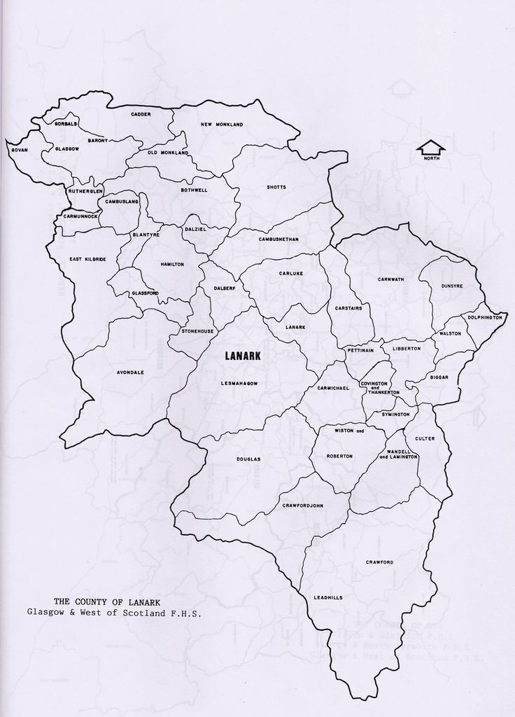Parish maps of Lanark county from Scotlandsfamily.com - Scottish genealogy portal assisting Scottish ancestor search