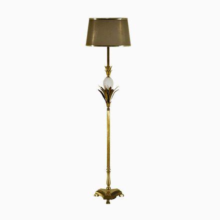 Perfect Vintage Messing und Keramik Stehlampe Frankreich Jetzt bestellen unter