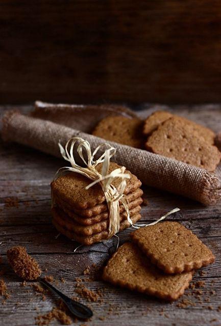 idée de présentation - petits gâteaux à la cannelle, sans sucre