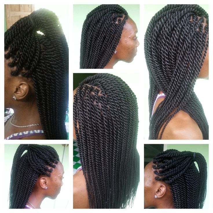 hair style braided gorgeous rope twists shared by julietta charlery rope 4564