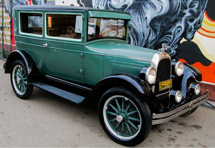 Whippet Car: 1928 Willys Overland Whippet Model 96. 4 Cylinder