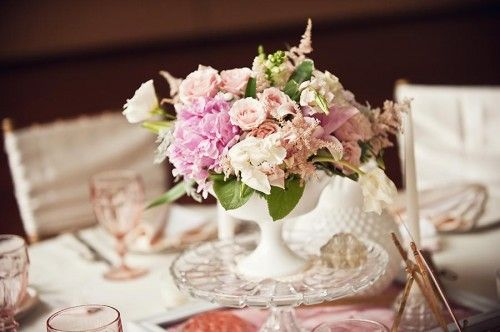 Best milk glass wedding ideas images on pinterest