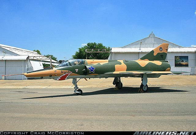 Dassault Mirage IIIRZ, One of the South African Air Force Museum exhibits at Swartkop.