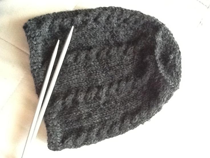 cappellino in lana intrecciato #2