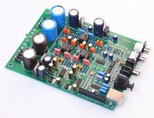 Assembly CS8416 + WM8741 Audio Decoder Board 24bit192K Coaxial Optical DAC NEW