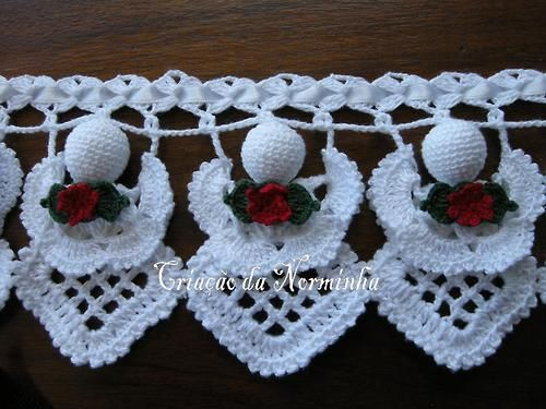 Russian Crochet Patterns With Charts | International Crochet Patterns, crocheted angel pattern