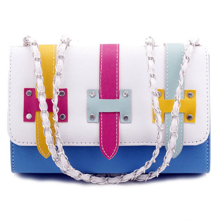 Find More Shoulder Bags Information about 2015 new Korean Popular fashion women handbag new belt buckle pure color women Mini rainbow color shoulder bags women bag,High Quality handbag logo,China bag white Suppliers, Cheap bag hobo from MLANXEUE on Aliexpress.com