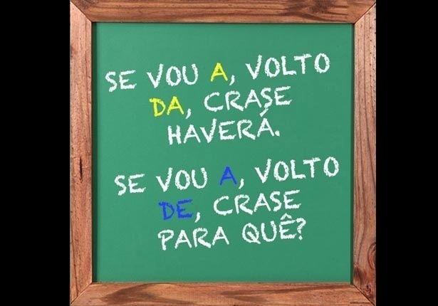 PORTUGUÊS (Crase): Ainda não é Natal, mas se for para usar crase, não vacile!!