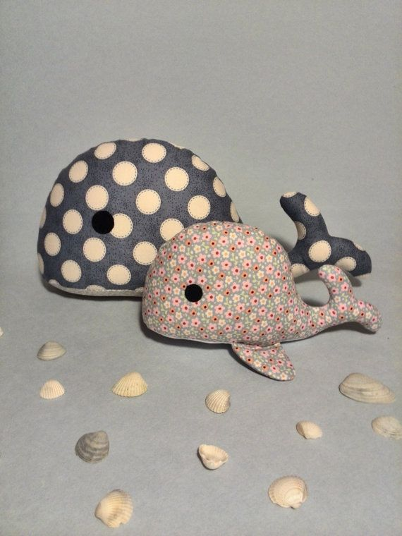 Whale plush Soft toys for children whales Baby by HandmadeToyStore