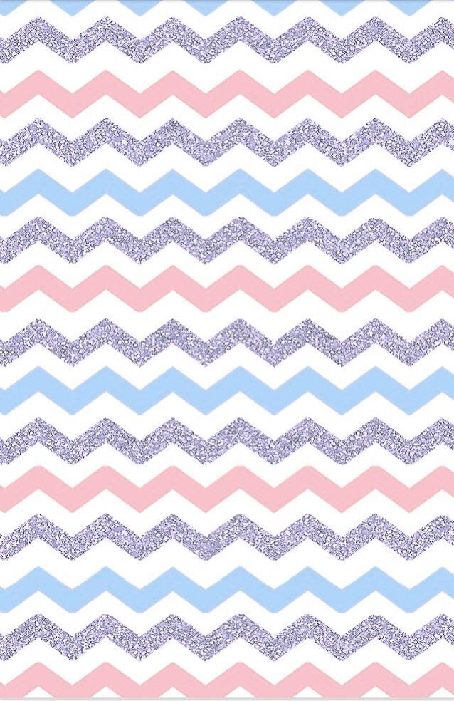 Easter colors chevron