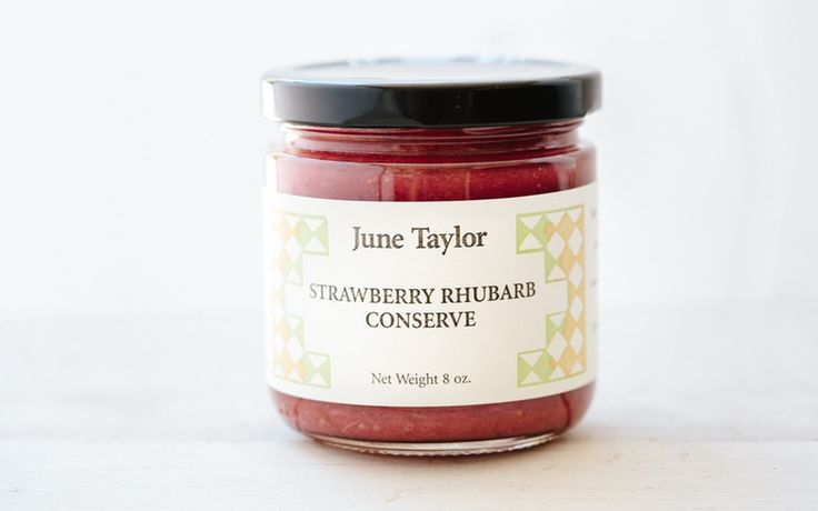 June Taylor Company - The Still-Room Strawberry Rhubarb Conserve