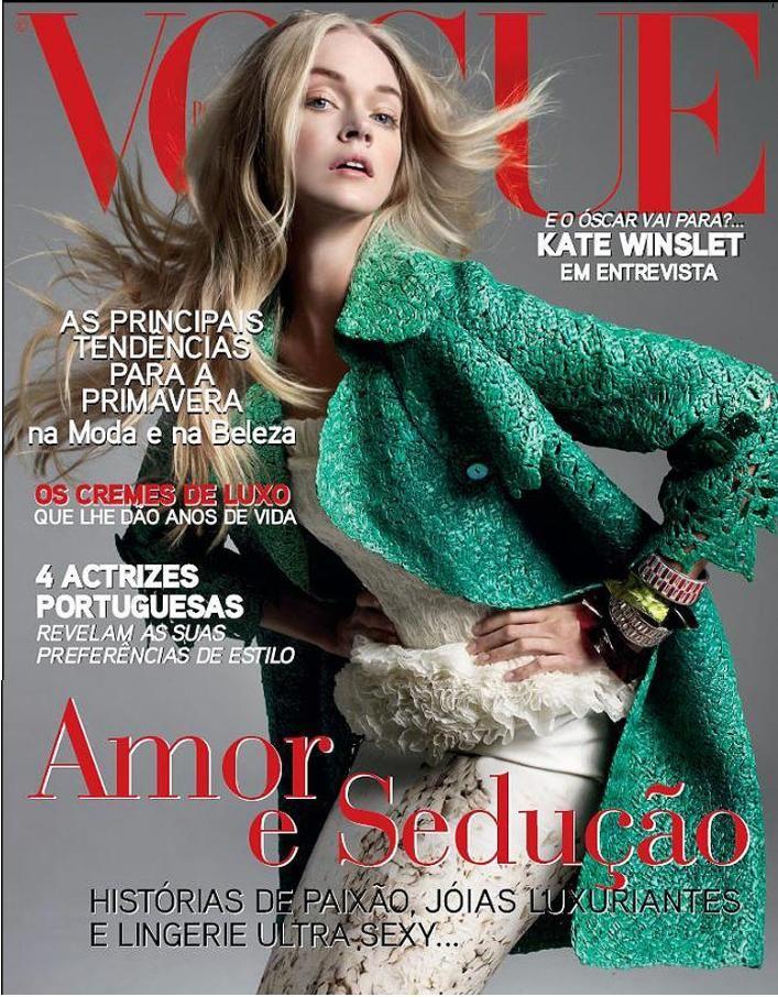 Lindsay Ellingson for Vogue Portugal  February 2009