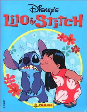 lilio stitch disney panini storybook sticker album