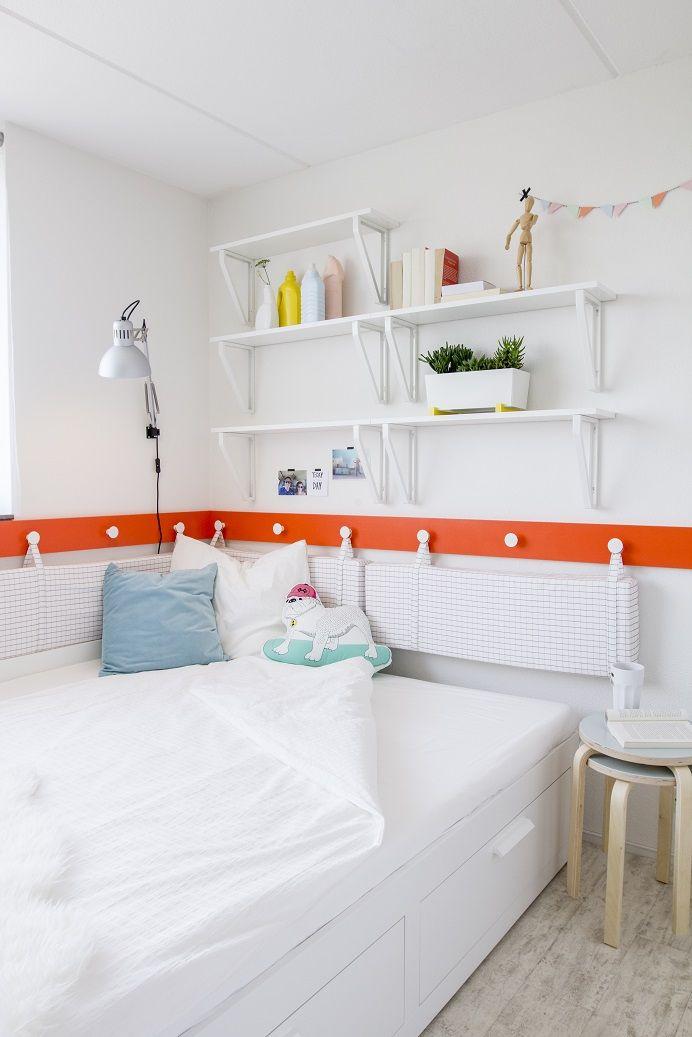 25+ beste ideeën over slaapkamer boekenplank op pinterest, Deco ideeën