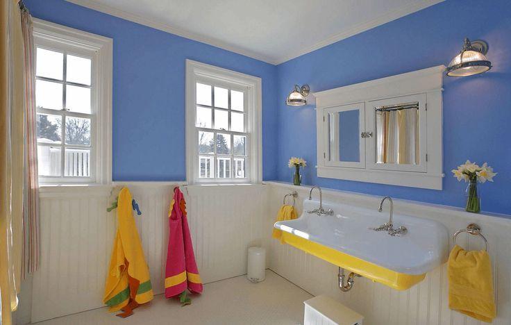 10 Möglichkeiten, Ihrem Badezimmerdesign Farbe zu verleihen | freshome.com